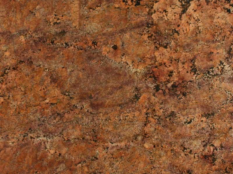 Granit braun kuche